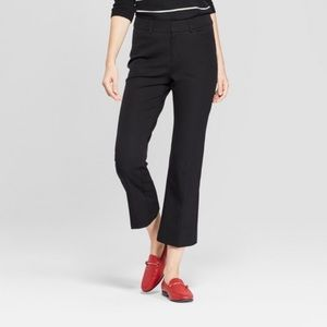 A New Day SIZE 14 Black Kick Flare Ankle Pants NEW
